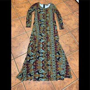 Bel Kazan maxi dress size small
